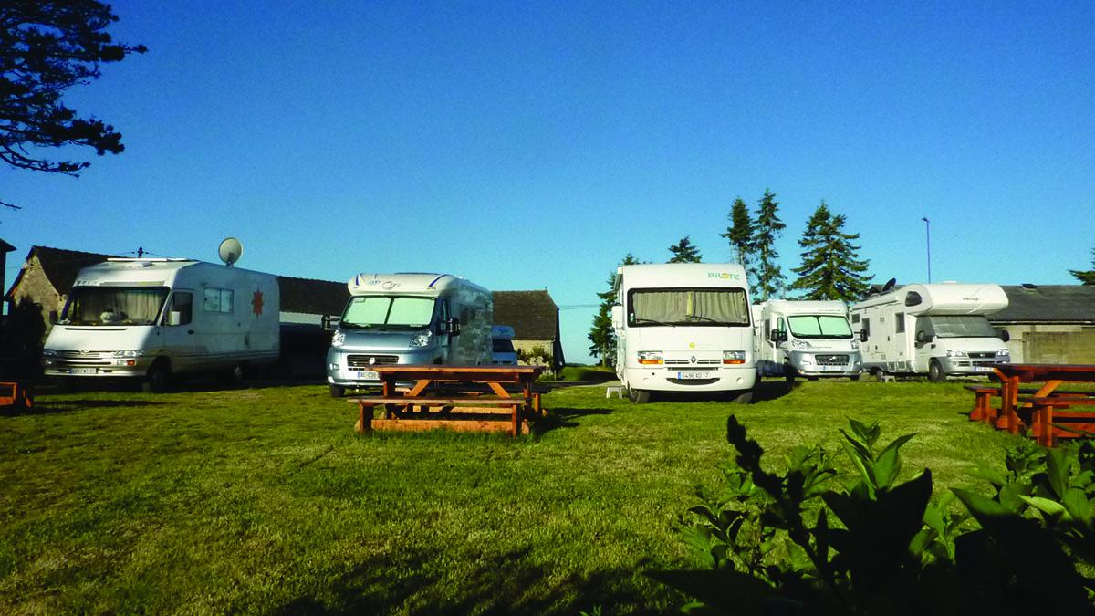 Aire De Stationnement Camping Car Conques